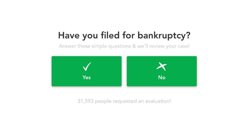 Bankruptcy Form Embedded