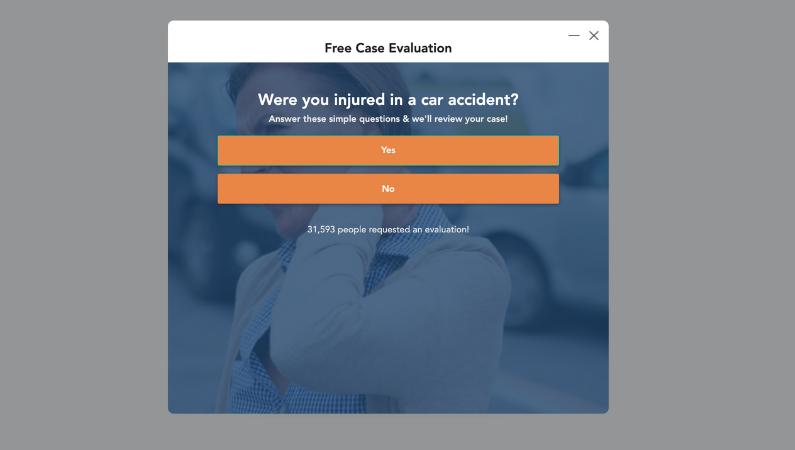 Personal Injury - No Icons